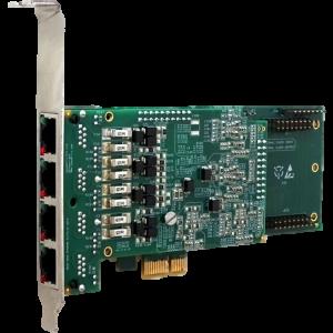 Caudalfin 4 Port PRI Card